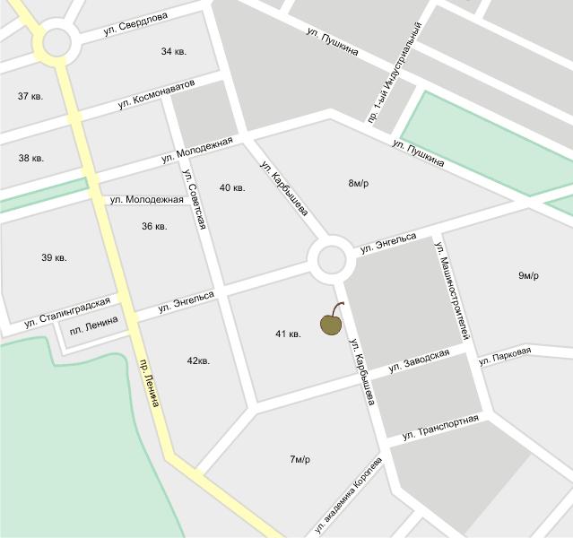 VinoGrad на карте